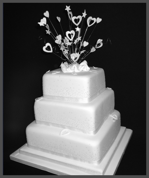Wedding Cakes in Troon, Ayrshire : Sugar & Spice